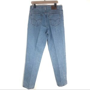 Vintage made in USA brown tag USA tapered jeans